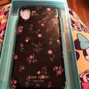 NWT . Kate Spade Hardshell Case for iPhone X.